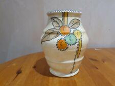 More details for charlotte rhead - fruits & silver stitch vase