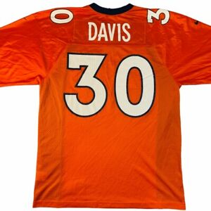 Vintage NFL Terrell Davis Denver Broncos Nike football jersey XL y2k