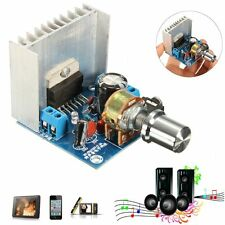 AC/DC 12V TDA7297 2x15W Digital Audio Amplifier DIY Kit Dual-Channel Module b7