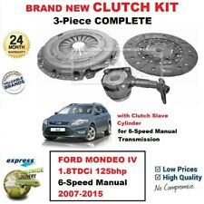 FOR FORD MONDEO IV 1.8TDCi 125bhp 6-Speed Manual 2007-2015 NEW CLUTCH KIT + CSC