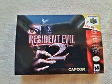 Resident Evil 2 N64 Custom Art case only - no game included