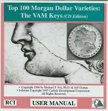 Special Discount!  Old Top 100 Morgan Dollar Varieties: The VAM Keys CD