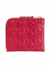 Comme des Garçons Portafoglio piccolo embossed A, mini wallet embossed A