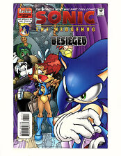 "Sonic the Hedgehog #89 (2000, Archie) FN+ ""Besieged"" Knuckles Sally Tails"