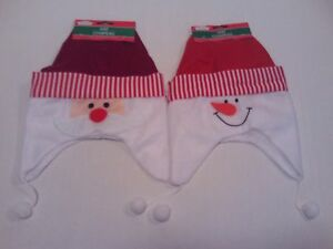 Baby Christmas Hat - Decorative Style Toddlers Santa Hat, Warm Baby Snowman Cap