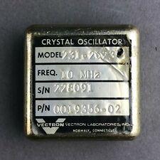 VECTRON 10MHz Crystal Oscillator Model:231-2623 P/N:0019356-02