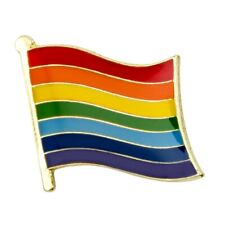 Other Collectible Pinbacks Asexual Pride Flag Lapel Pin 16mm Gay Lesbian Lgbt Lgbtq Hat Tie Tack Badge