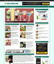 Turnkey Health Niche Blog Website Auto Update
