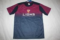 AFL 2015 Brisbane Lions Mens Tech T shirt sizes: S M