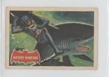 1966 A&BC Batman A Series (Red Bat Logo) #37A Watery Warfare Non-Sports Card 0a6