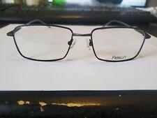 New Flexon Gates 001 Black Authentic Eyeglasses Frames Rx 55-17