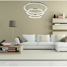 3Rings Lighting Acrylic Shade Pendant Ceiling Lamp Chandelier Integrated LED TOP
