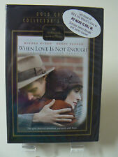 Hallmark Hall of Fame DVD - When Love Is Not Enough - NEW Winona Ryder Pepper