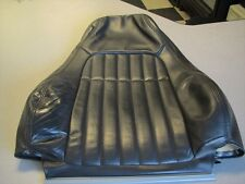 00-02 Chevy Camaro SS Ebony OEM GM Passenger side used Upper leather Seat Cover