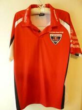 Honda Racing Red Bull Pit Shirt Mens large short sleeve mesh motorcycle Htf