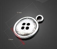 PJ549 12pc Retro Tibetan Silver buttons Jewelry Accessories wholesale