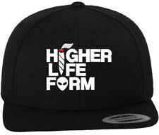Higher Life Form Snapback Hat, Weed, Marijuana, Alien, Joint, Blunt, Ganja, Kush