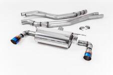 Milltek BMW M140i 3&5 Door Cat Back Exhaust ROAD Resonated Burnt GT90 SSXBM1043