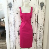 Calvin Klein Size 6 Woman's Pink Sleeveless Sheath Casual Career Cocktail Dress