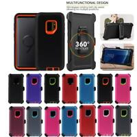 For Samsung Galaxy S9/S9+Plus Stand Case Cover Shockproof Hard Holster Belt Clip