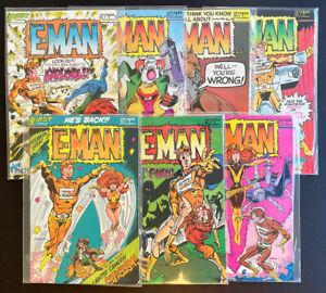E-Man #1-7 (1983, First Comics) by Martin Pasko and Joe Staton