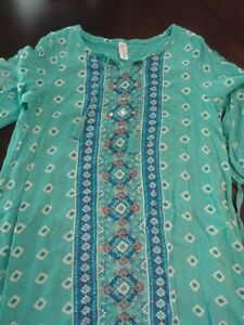 EUC Girls Justice Dress Size 16