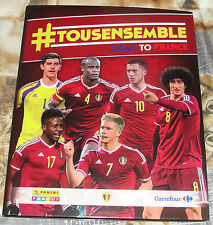 Panini Carrefour Tous ensemble Road To France complete set 180 cards in binder