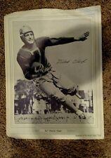 Vintage Football 1950's Detroit Press EARL DUTCH CLARK Lions Photo 9 x 12 RARE