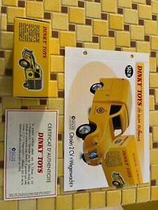 "coffret collector dinky toy atlas 2012""wegenwatcht 2 CV citroen"" 562H NEUF"