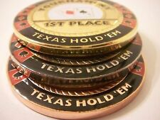3 PC Poker Tournament Trophy Set 1st 2nd 3rd Place Card Guards NEW