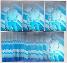 Lot of 25 1991 Arena Joe Montana #1 Hologram Cards - Sharp Lot