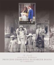 Micronesia- Royal Baby Birth of Princess Charlotte Stamp - Souvenir Sheet MNH