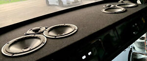 """4 FOCAL UTOPIA 6.5"""" SHIELDED CONE CAR OR HOME MID MIDBASS MIDRANGE SPEAKERS USED"""