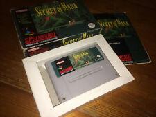 SECRET OF MANA - Super Nintendo/SNES/NES/Squaresoft/PAL/Boxed & Complete/RPG