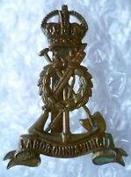 Badge- Royal Pioneer Corps Cap Badge Labor Omnia Vincit KC maker JR GAUNT