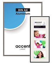 Nielsen Accent Bilderrahmen 30x30 Aluminium Silberfarben matt 54124