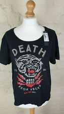 DC SHOES USA Ladies 'Death from Above' T-Shirt Size: XL NEW WITH TAGS