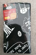 Star Wars Single Bed Fitted Sheet Brand NEW Sealed Boys Bedroom Black & White
