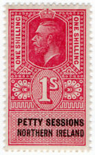 (I.B) George V Revenue : Petty Sessions (Northern Ireland) 1/-