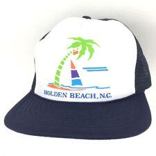 bcdc807d5d4 Vintage Holden Beach Hat Mesh Cap Logo Rope Snapback Baseball Trucker Sail  Boat