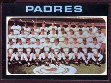 1971 TOPPS SAN DIEGO PADRES TEAM  CARD NO:482 GH124 NEAR MINT