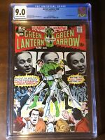 Green Lantern #84 (1971) - CGC 9.0!!! - Black Hand Appearance - OW/W Pages