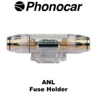 Phonocar 4/323 ANL Fuse Holder For 2AWG OR 0AWG cables High Quality Brand NEW
