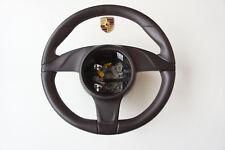 Porsche 997 987 991 VOLANT Volant Sport Cuir Espresso 99134780354 6H6 SP2A