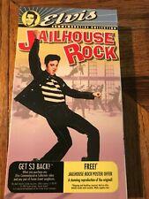 Elvis Presley Judy Tyler Jailhouse Rock Movie VHS Tape