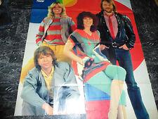 ABBA   POSTER  XXL  WAND   1,20 x 1,10 M SUPER SELTEN RAR   1216