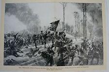 Druck Buchseite Das 1. Westpreussische Infanterie-Regiment nach R. Knötel (N 61)