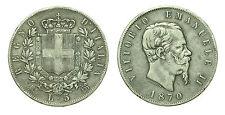 pcc1632_2) Regno Vittorio Emanuele II lire 5 scudo 1870