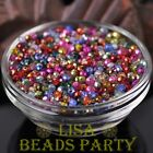 New 500pcs 4X3mm Faceted Rondelle Crystal Glass Loose Spacer Beads Random Mixed