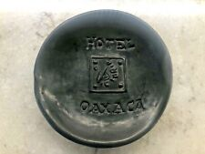 Hotel Oaxaca Black Pottery Ashtray
